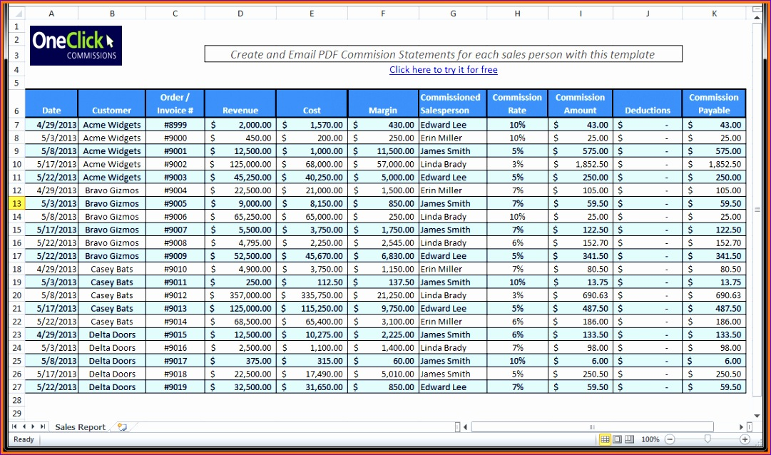 4 free excel spreadsheet templates 1081638