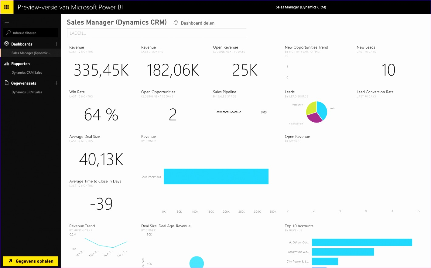 bining dynamics crm online and power bi preview 1419883