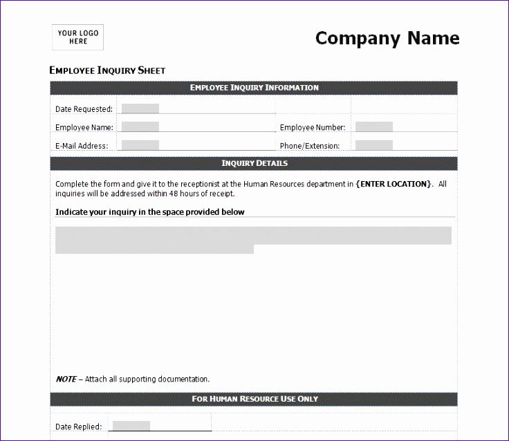 sales funnel excel template v2rgn best of employee inquiry form