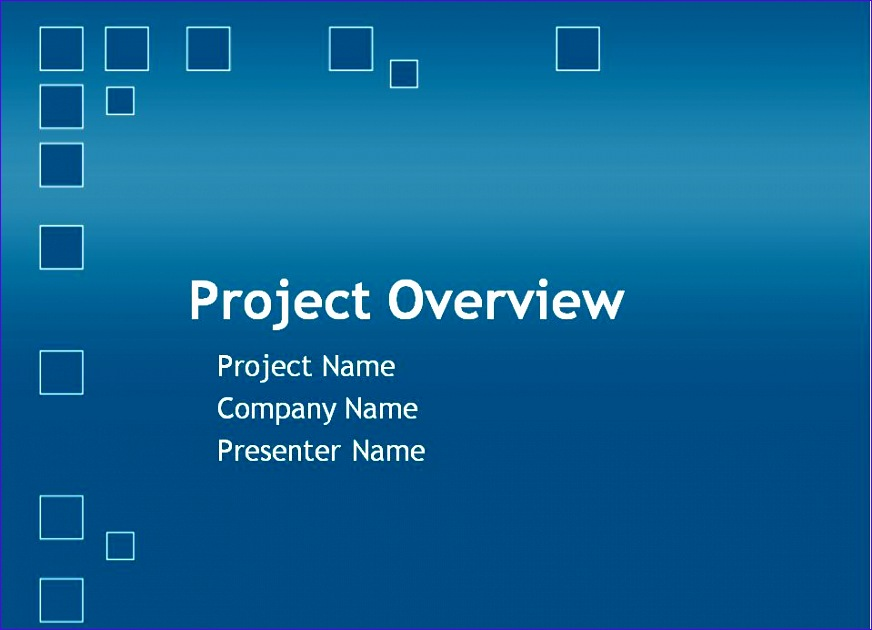 project plan powerpoint template 872630