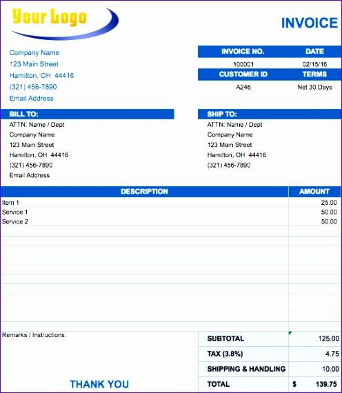 garage invoice template uk garage invoice template invoice 496570