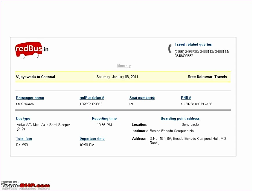 car travels bill format chennai 873662