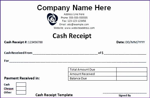 receipt templates 592388