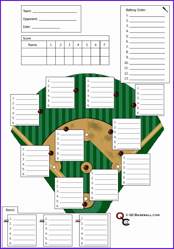 12 baseball lineup excel template exceltemplates for Free baseball lineup card template