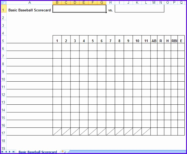 12 baseball lineup excel template exceltemplates for Baseball team roster template