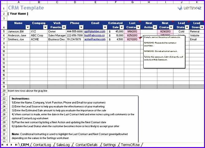 Business Plan Template Excel Format Quotation Format In Excel