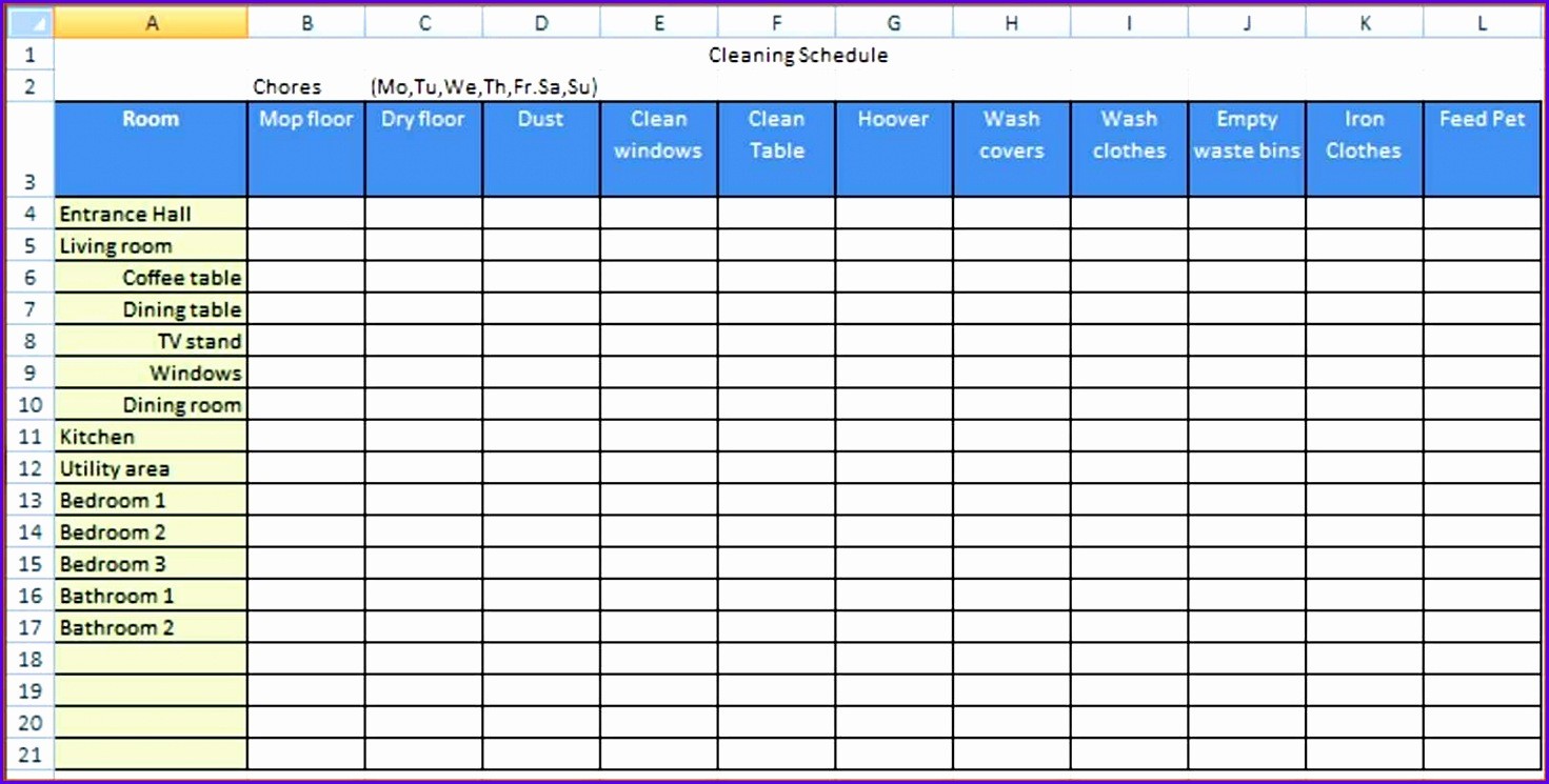 Checklist Template Excel Cleaning Checklist Template Excel Checklist  Template Excel 1471745