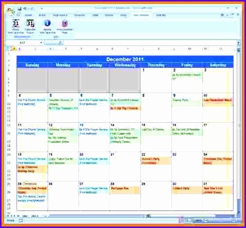 Excel calendar Microsoft Excel Excel calendar Excel 505468