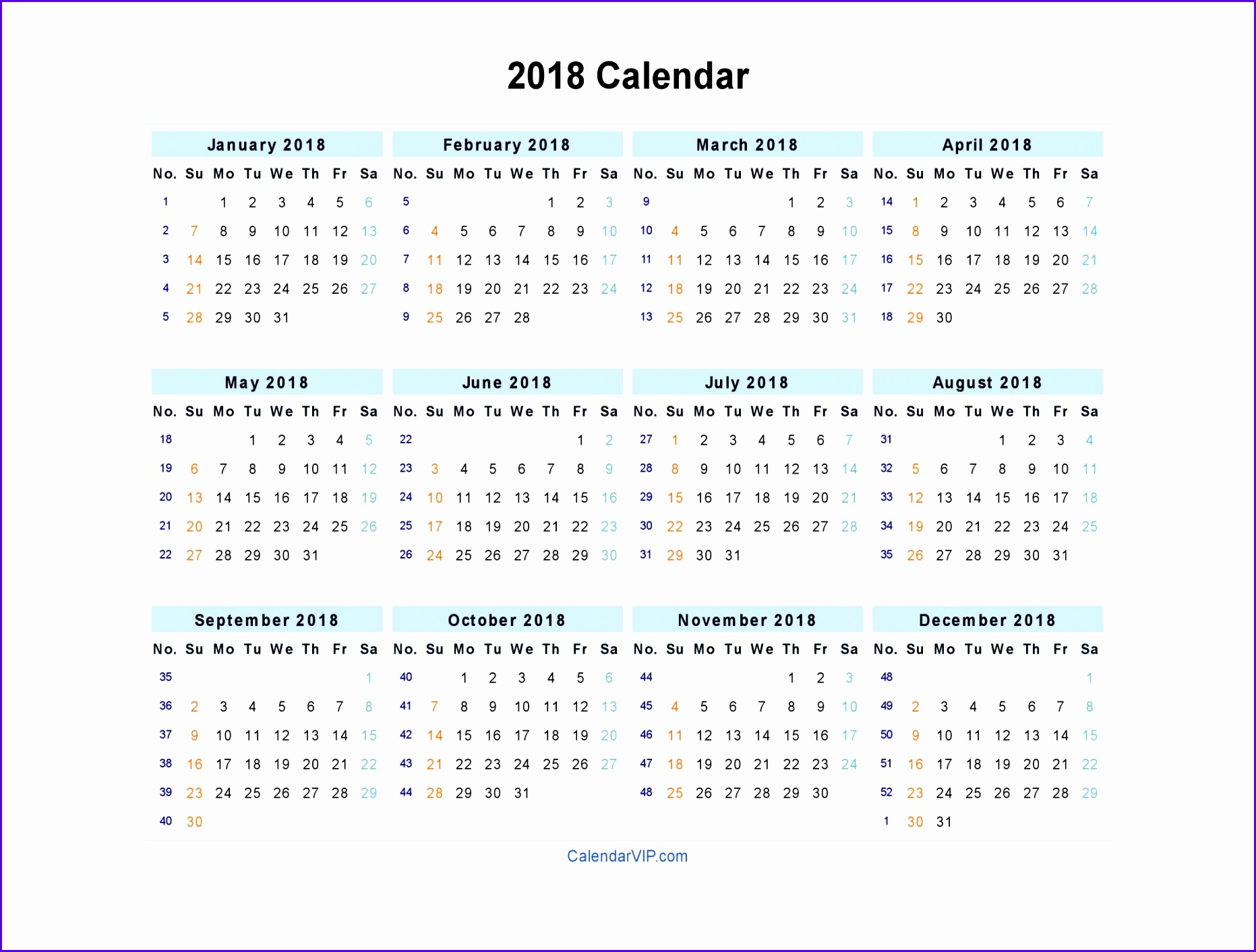 excel calendar 2018 template 18631413
