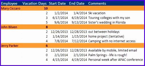 Vacation Schedule JPG