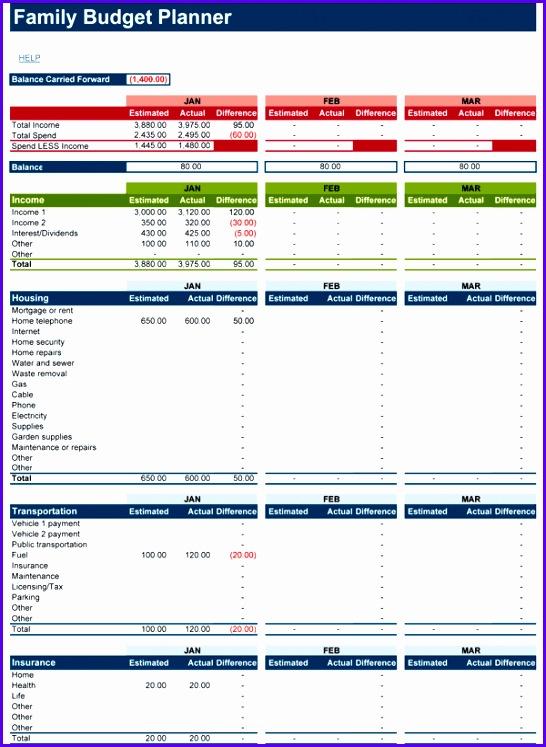 Family Bud Planner Screenshot 546747