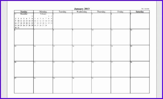 Microsoft Powerpoint Calendar Template 2013 Bountrfo 527322