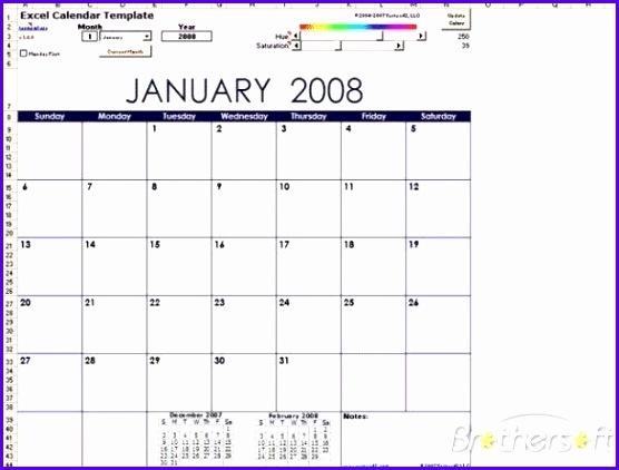 Download Free Excel Calendar Template Excel Calendar Template 1 4 for Calendar Template Excel