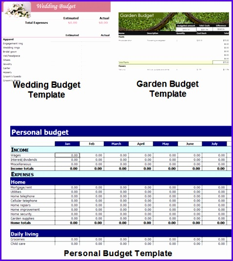 excel templates for easy and effective bud ing