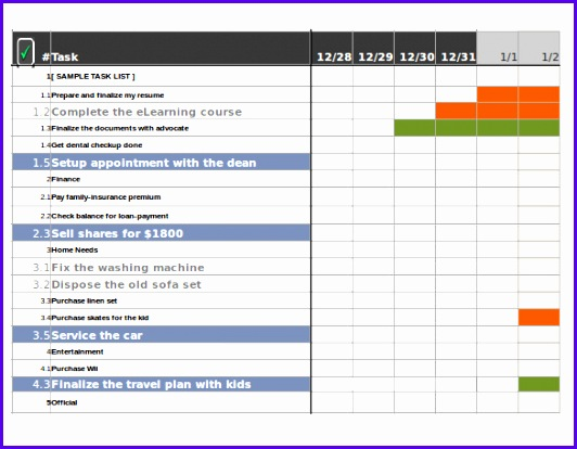 Tracking Template – 17 Free Word Excel Pdf Documents Download 532414