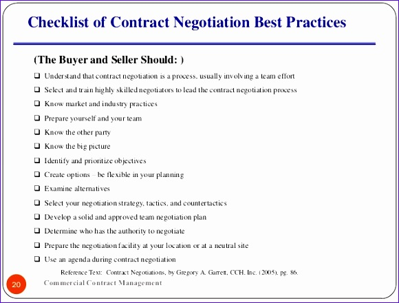 contract negotiations 580440