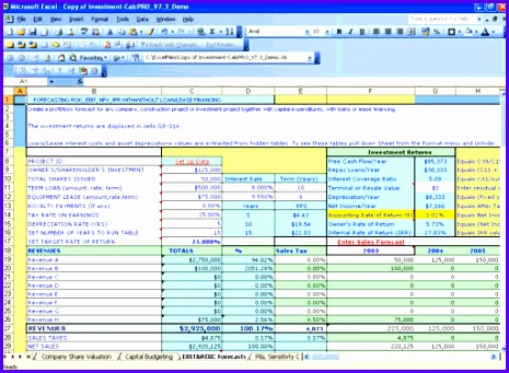 business Accounting Excel Templates 465341