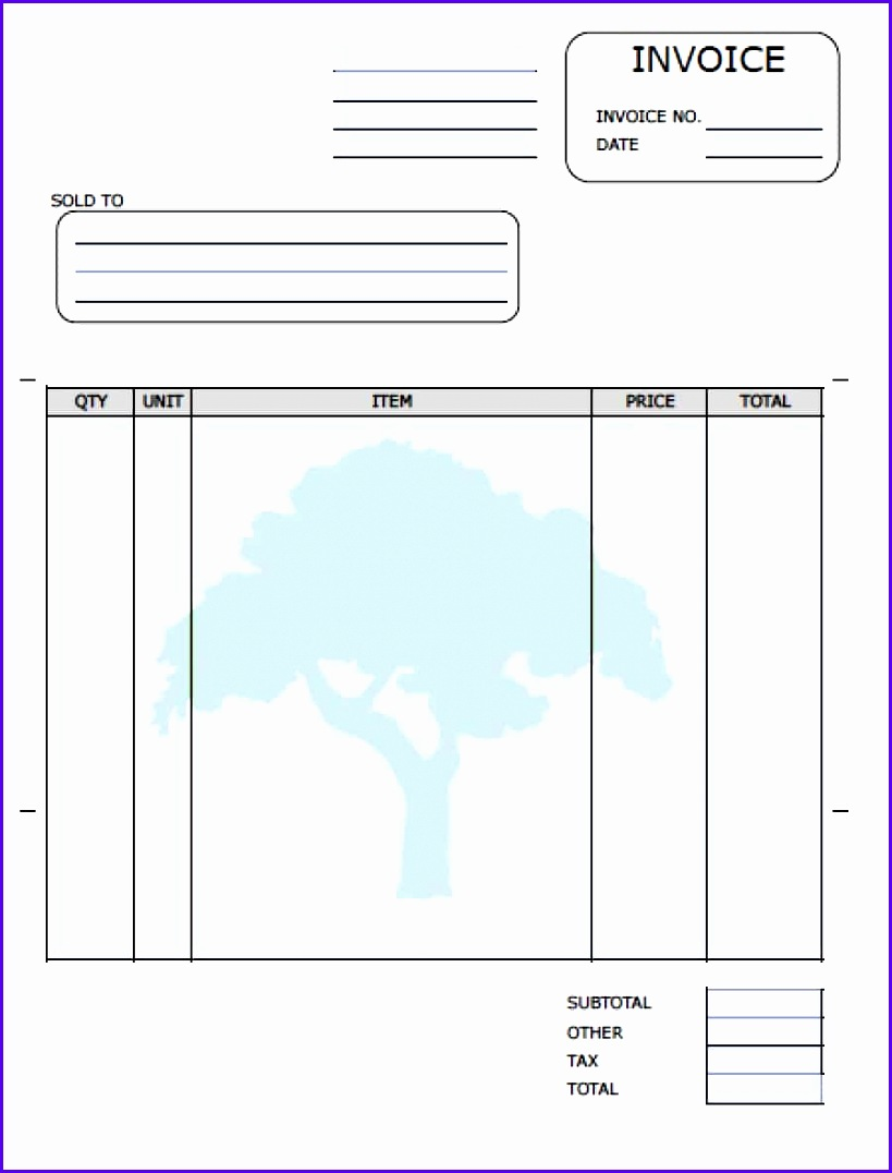 Sample Free Excel Invoice Template Uk Hiwxh Awesome Free Landscaping Lawn Care Service Invoice Template 9001170