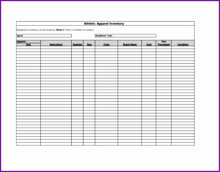 Inventory Control Excel Template Free Download Excel Inventory Template Download 708555