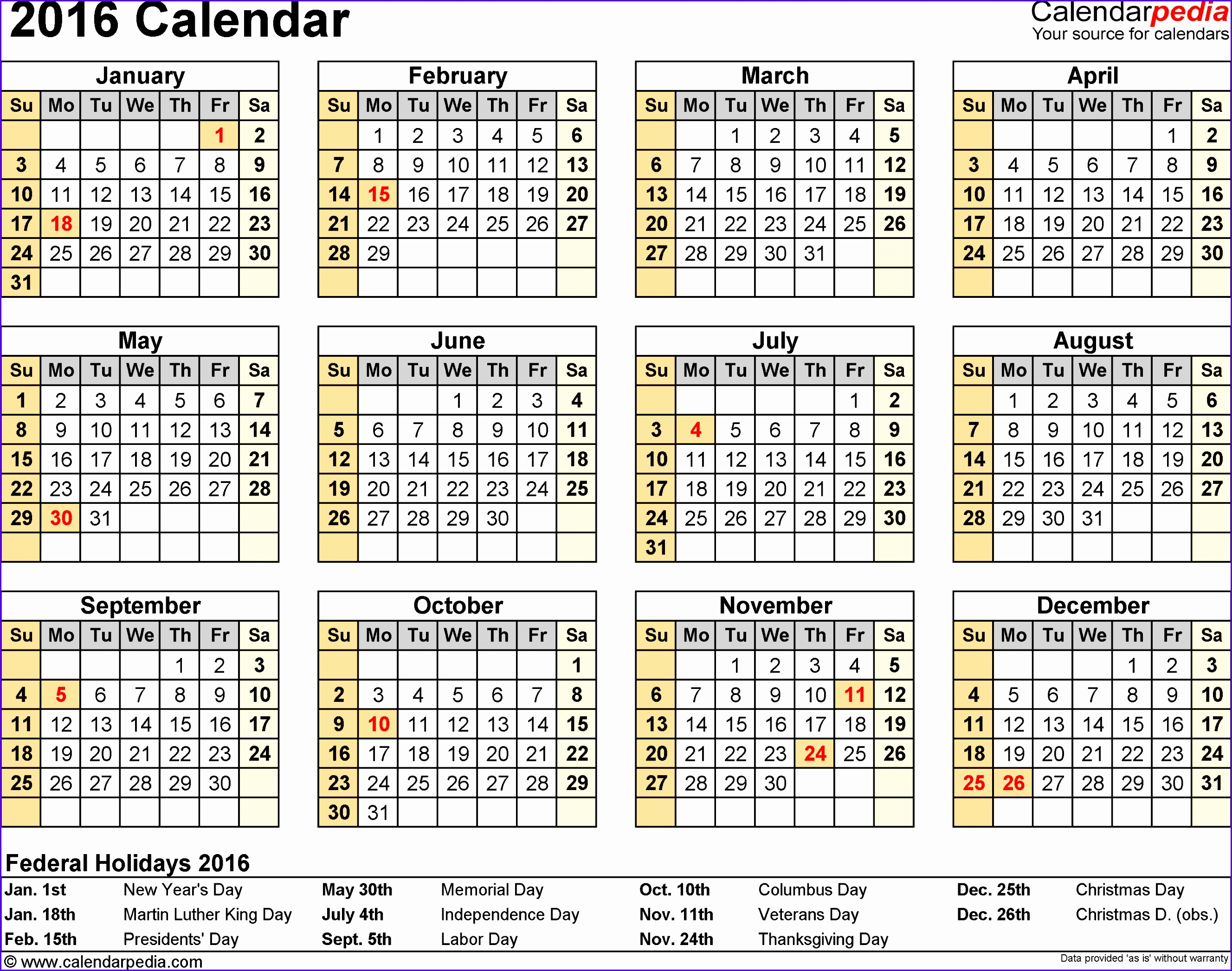 2016 Calendar Download 16 Free Printable Excel Templates Xls Microsoft Template Microsoft Excel Calendar Template Template 26552093