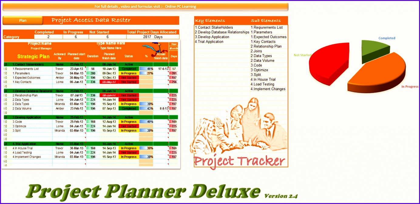 project manager excel 1384674