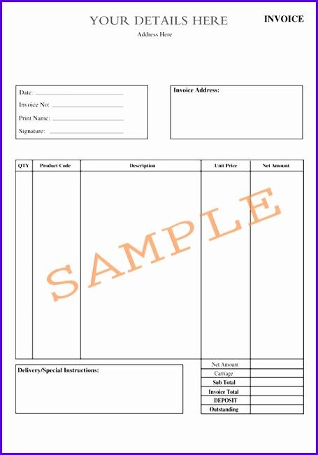 Invoice2A4 455650
