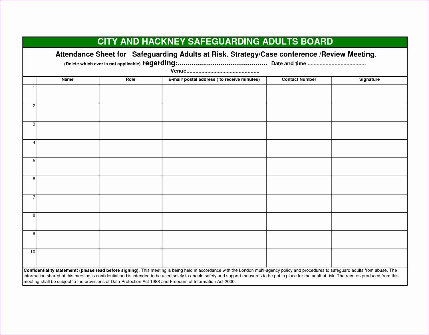 meeting list template 15031174