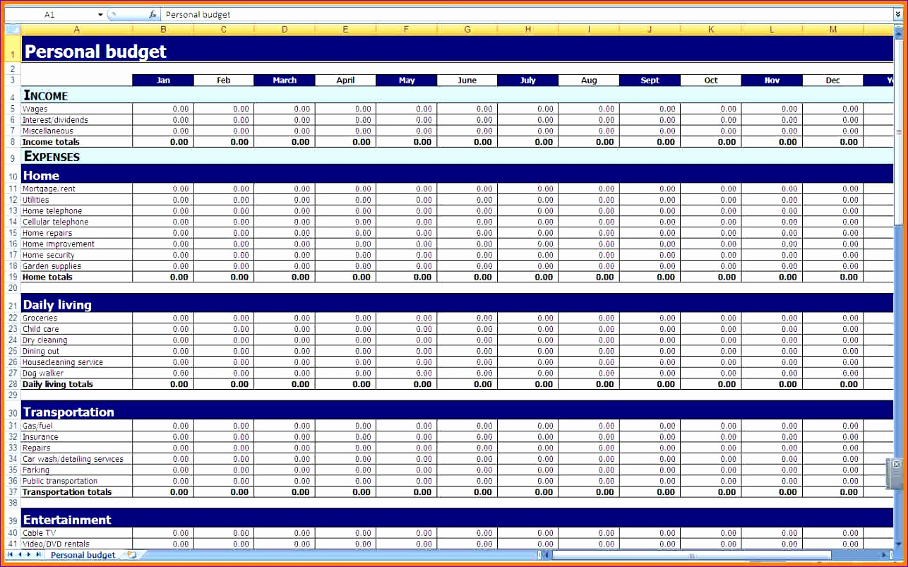 8 free excel spreadsheet templates 1286803