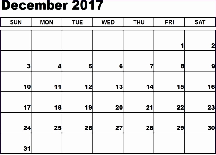 december 2017 calendar fillable 880631