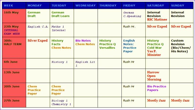 workout calendar template 801452