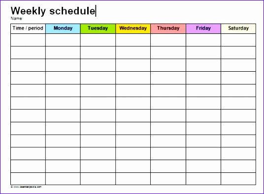 10 shift schedule template excel