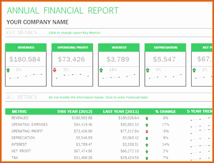 9 excel financial statement template 740564
