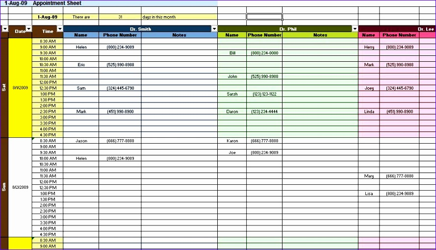excel spreadsheets templates 2 889510