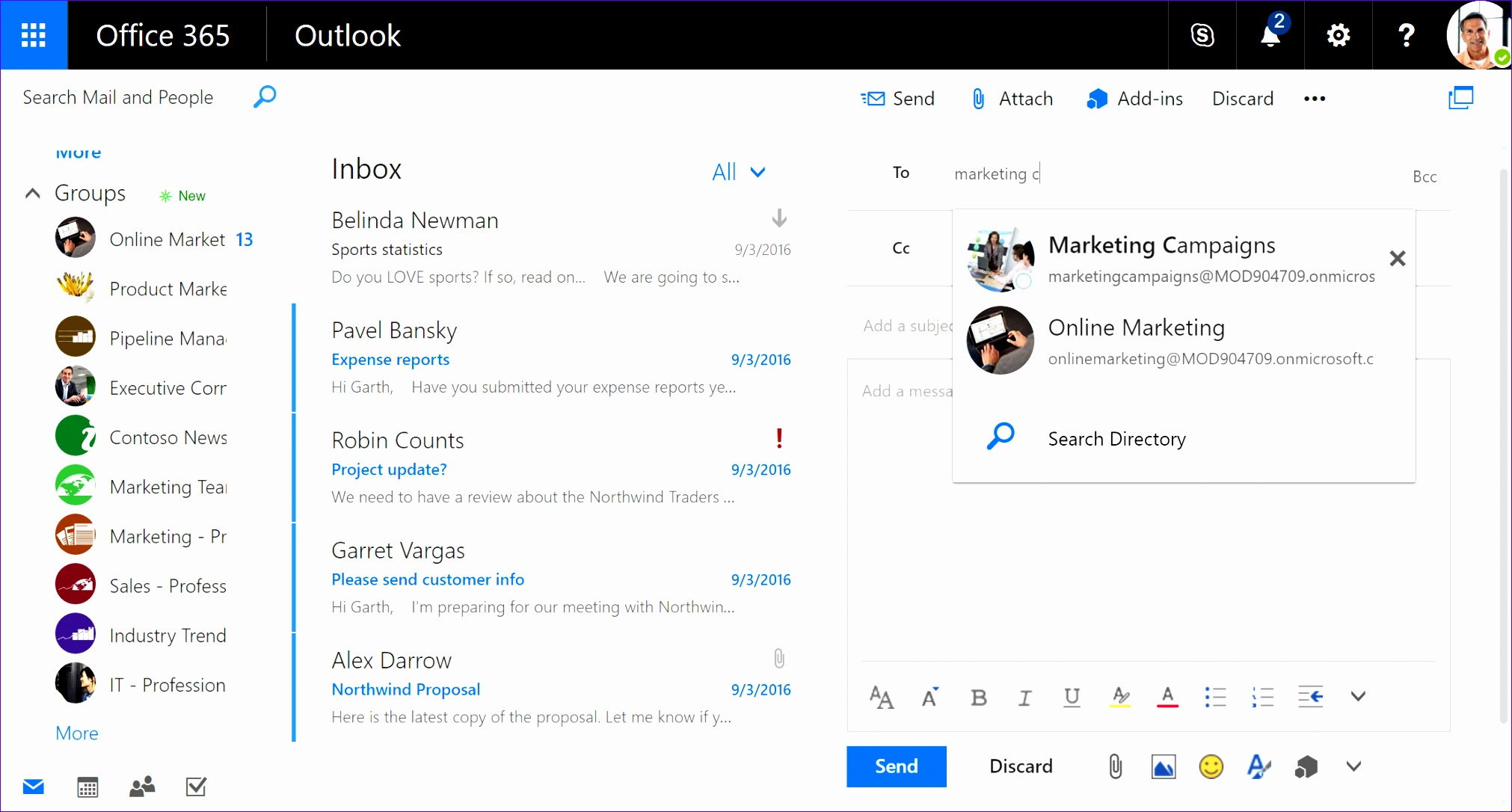yammer strengthens team collaboration through integration with office 365 groups 20221086