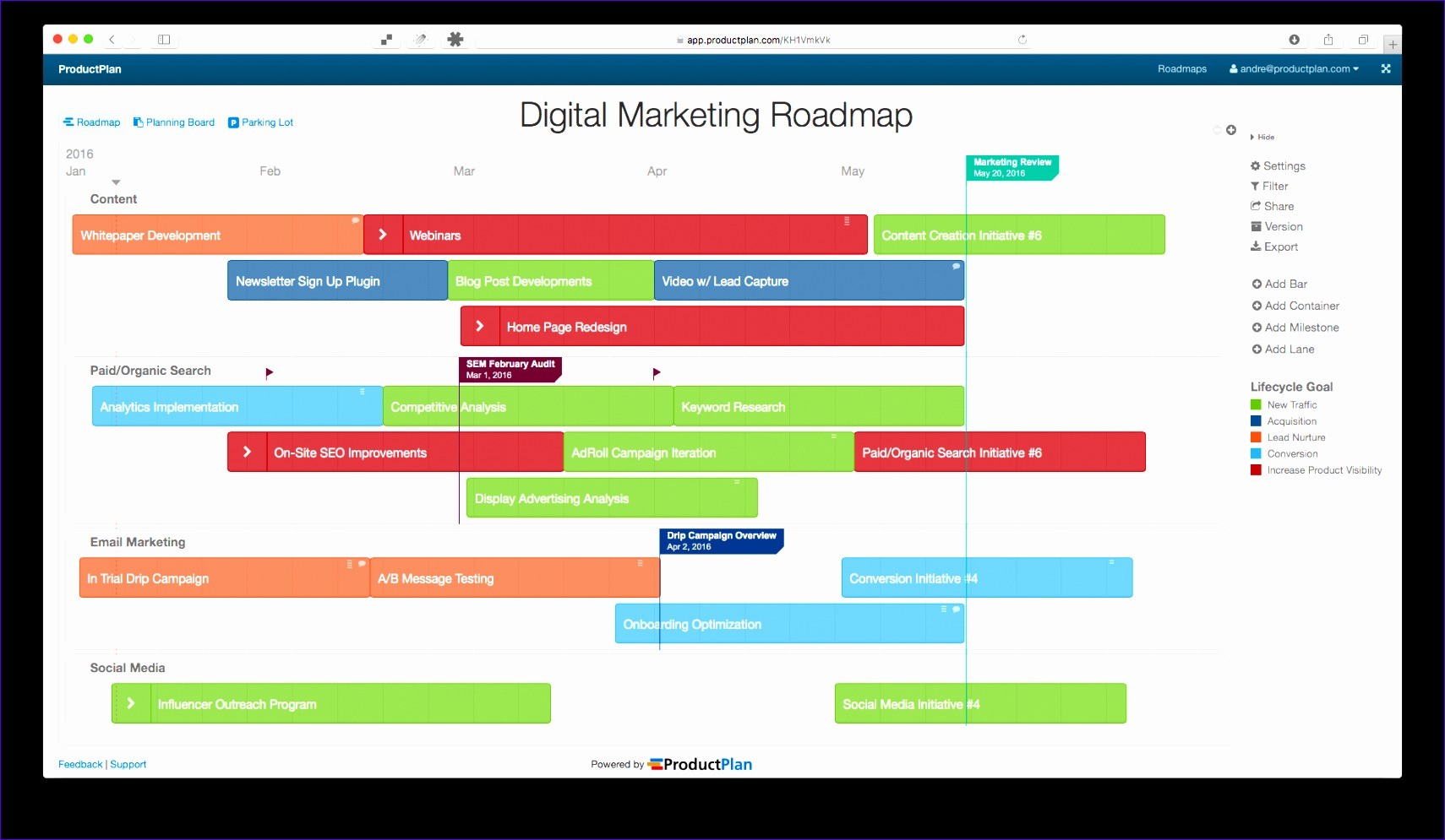 example marketing roadmaps 1710995