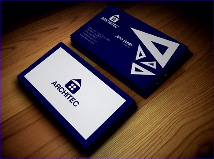 architect business card 682508