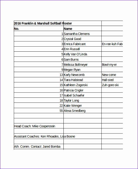 6 staff roster template excel exceltemplates for Personnel roster template