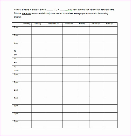 free printable planner templates for nurses