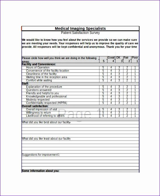 excel survey template 546671