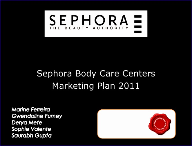 free marketing plan sample by marketingplannow cosmetic retailer sephora lvmh 662502