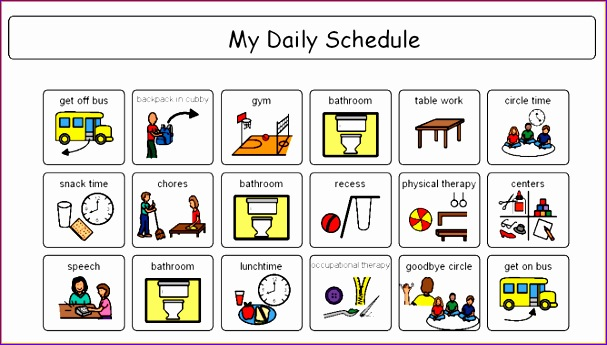 4 daily schedule maker