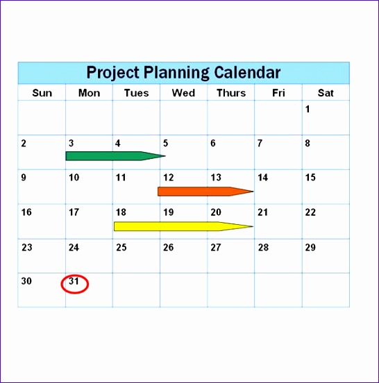 examples of project schedules