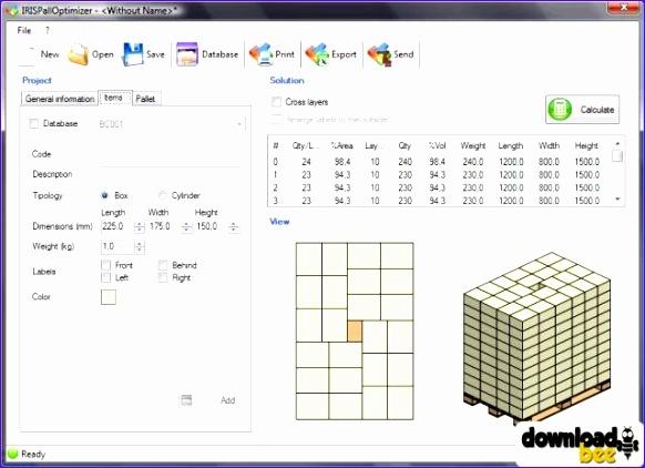 IRIS pallet software di ottimizzazione 1 2 9 0 software it 582422