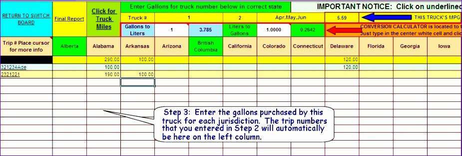 Truck Drivers Fuel Tax