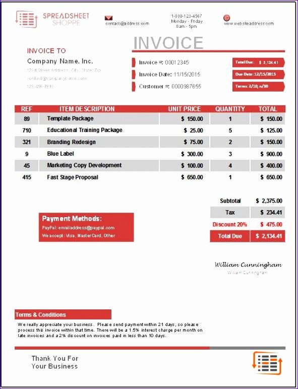premium invoice template everest 591772