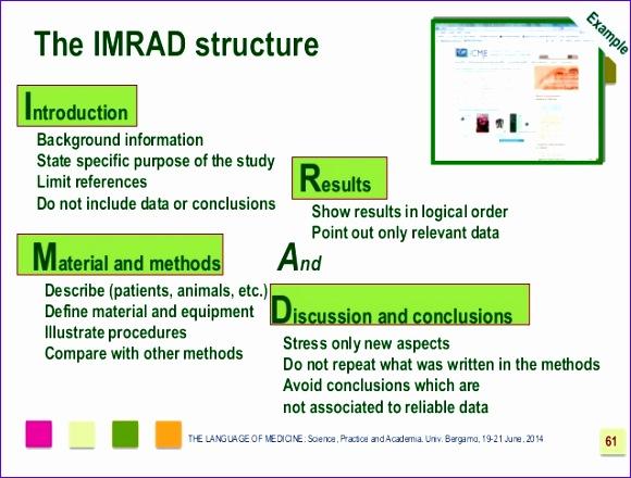 imrad the format for scientific 580440
