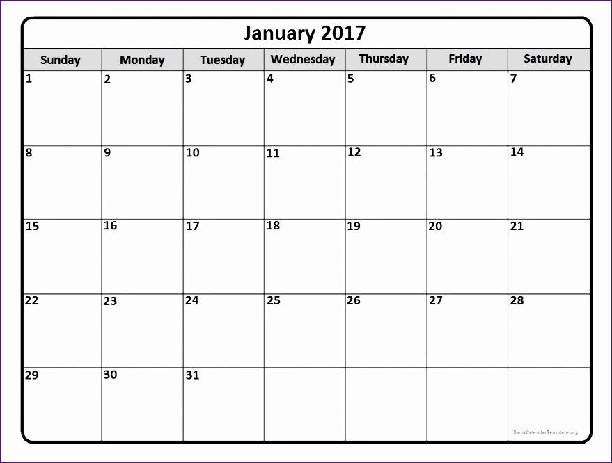blank monthly calendar 2017 516