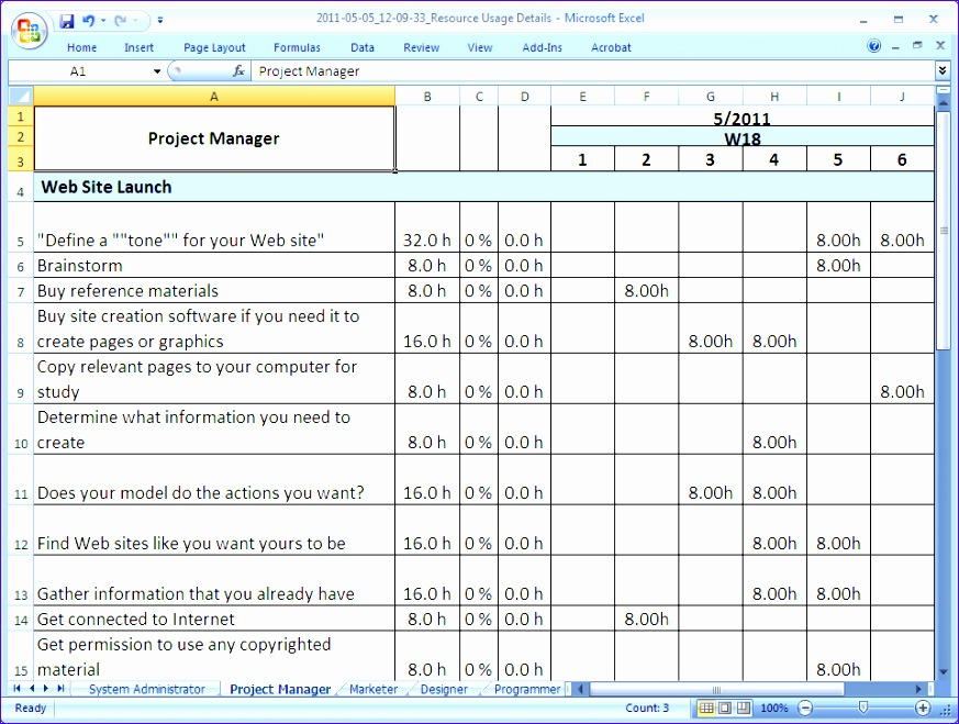 how to generate project reports windows 873659