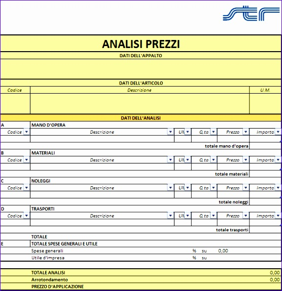 Templates Excel 2007 B7skr Fresh Strvision Cpm Modelli 611625