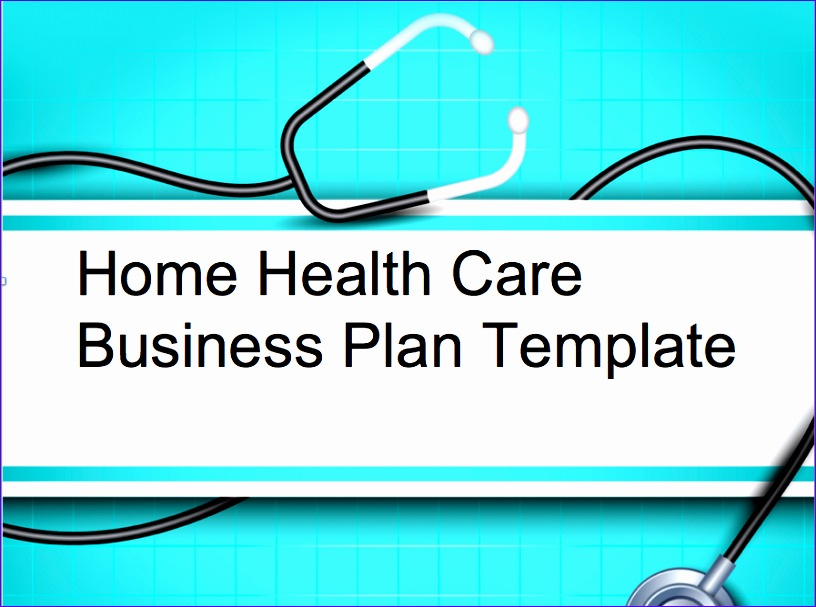 Templates for Microsoft Excel E4nxf Fresh Home Health Care Elderly Care Business Plan Black Box 897660
